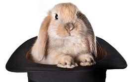 Before pulling that rabbit out of your hat…