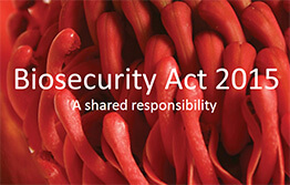 New biosecurity act for NSW